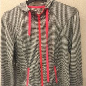 Ladies Dri-Fit light weight hoodie/zip up jacket